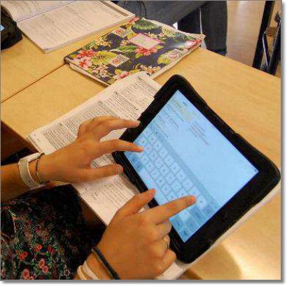 iPad als hulpmiddel bij het onderwijs