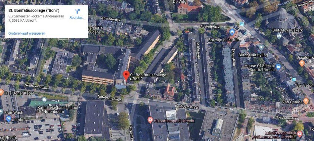 Klik hier voor een kaart van het Boni op Google Maps